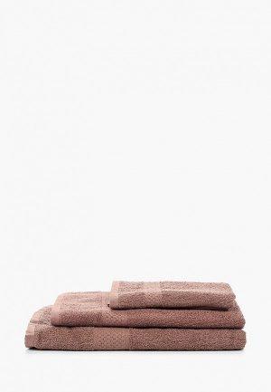 Набор полотенец HappyFox. Цвет: коричневый