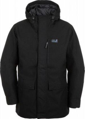 Куртка утепленная мужская Jack Wolfskin West Coast, размер 50-52. Цвет: черный