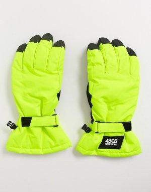 Перчатки -Желтый ASOS 4505