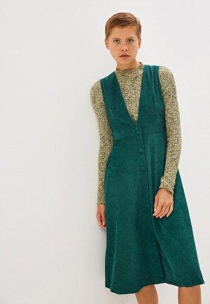 Платье Compania Fantastica. Цвет: зеленый