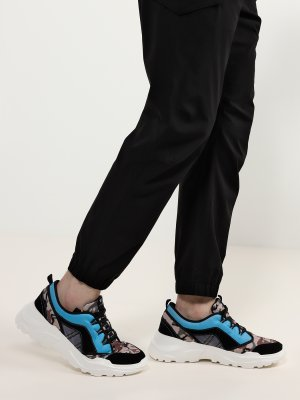 Кроссовки Trussardi Jeans. Цвет: multikolor