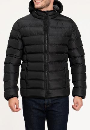 Куртка утепленная Amimoda. Цвет: черный