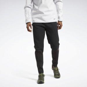 Спортивные брюки rmowarm Deltapeak Reebok. Цвет: black
