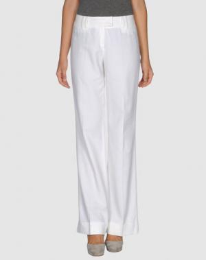 Повседневные брюки CARAMELO. Цвет: белый