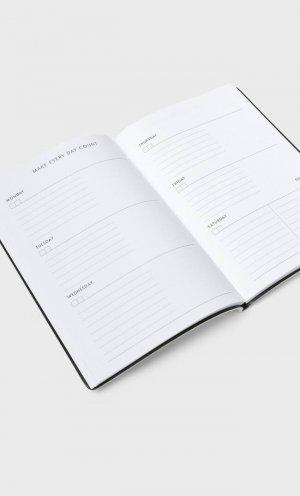 Ежедневник В Обложке С Вышивкой Цвет Небеленого Полотна 103 Stradivarius. Цвет: цвет небеленого полотна
