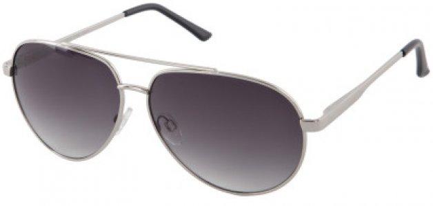 Солнцезащитные очки Invu. Цвет: серебристый