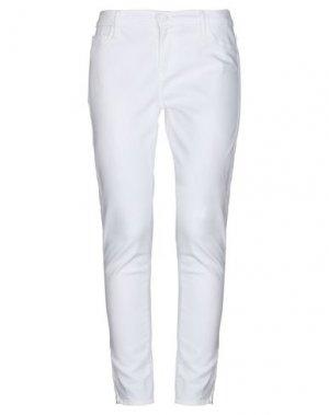 Джинсовые брюки BLACK ORCHID. Цвет: белый