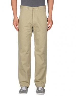 Повседневные брюки MARINA YACHTING. Цвет: зеленый-милитари