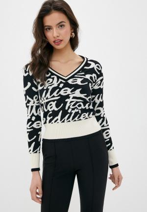 Пуловер Elisabetta Franchi. Цвет: черный