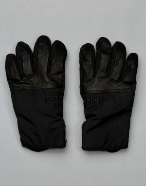 Черные перчатки Rogue HT Helly Hansen. Цвет: черный