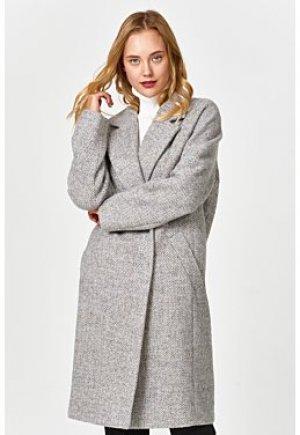 Полушерстяное пальто Elema