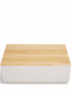 Хлебница Mattina Alessi. Цвет: серый