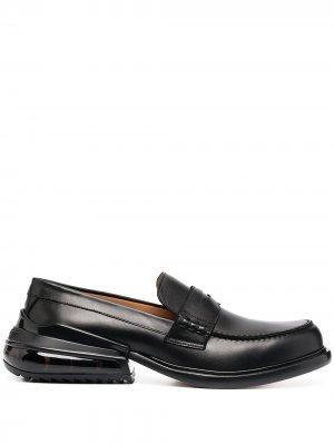 Лоферы на массивном каблуке Maison Margiela. Цвет: черный