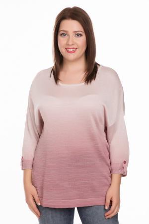 Пуловер Gelco. Цвет: розовый