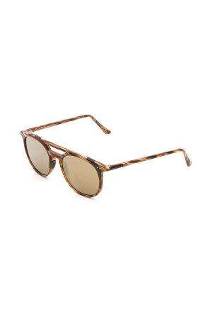 Очки солнцезащитные с линзами Italia Independent. Цвет: btg 005 коричневый