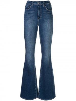 LAgence расклешенные джинсы с завышенной талией L'Agence. Цвет: синий