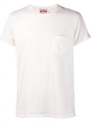 Футболки и жилеты Levis Vintage Clothing Levi's. Цвет: белый