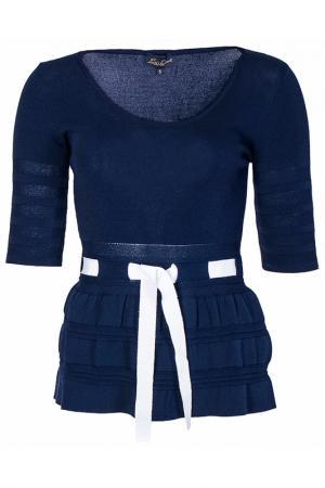 Пуловер Luisa Spagnoli. Цвет: синий