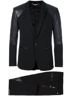 Классический костюм-двойка Nelson Philipp Plein. Цвет: чёрный