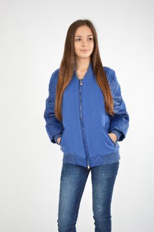 Куртка Grand Style. Цвет: темно-синий