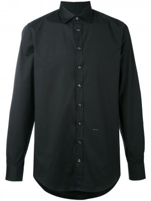 Рубашка на пуговицах Dsquared2. Цвет: черный
