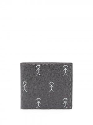 Бумажник Mr. Thom с логотипом Browne. Цвет: серый