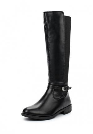 Сапоги Ideal Shoes. Цвет: черный