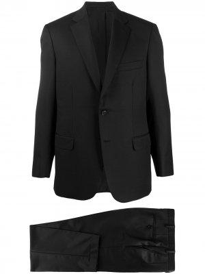 Однобортный пиджак Brioni. Цвет: черный