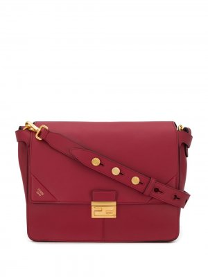 Большая сумка-тоут Kan U Fendi. Цвет: красный