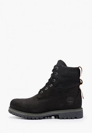 Тимберленды Timberland 6 WP Treadlight Boot BLACK. Цвет: черный