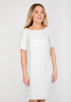 Платье Akimbo. Цвет: белый