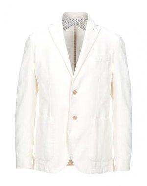 Пиджак 1911 LUBIAM CERIMONIA. Цвет: белый