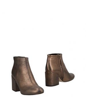 Полусапоги и высокие ботинки ANNA F.. Цвет: бронзовый