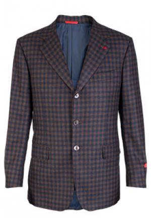 Пиджак ISAIA. Цвет: коричневый