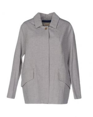 Легкое пальто MOMONÍ. Цвет: светло-серый