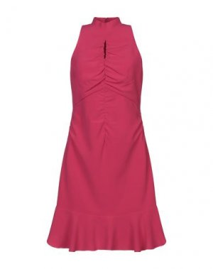 Короткое платье HALSTON. Цвет: фуксия