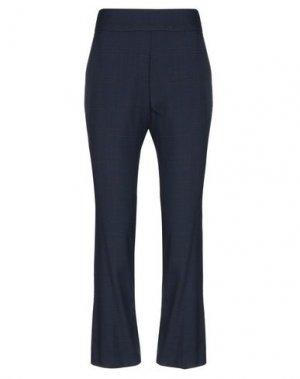 Повседневные брюки NÜMPH. Цвет: темно-синий