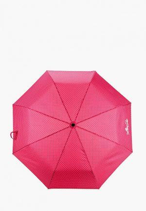 Зонт складной Liu Jo. Цвет: розовый