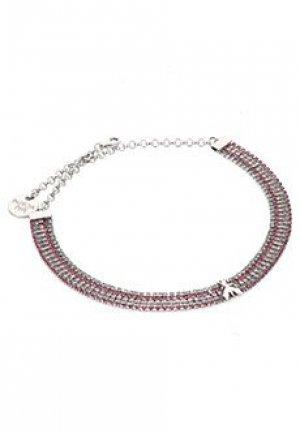 Ожерелье PATRIZIA PEPE. Цвет: розовый