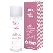 Увлажняющая ночная маска-автозагар Face by Overnight Tan & Hydrate Mask 50 мл Skinny