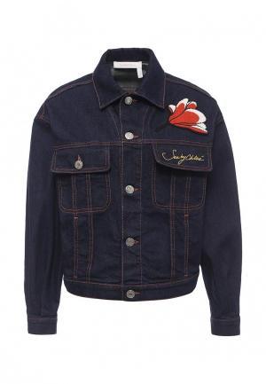 Куртка джинсовая See by Chloe. Цвет: синий