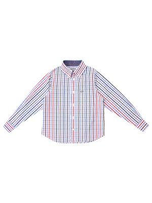 Детская рубашка в клетку PAUL & SHARK