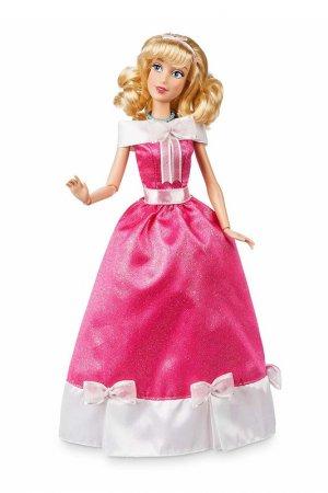 Кукла Золушка поющая Disney Princess. Цвет: бордовый