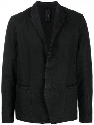 Пиджак с V-образным вырезом Transit. Цвет: черный