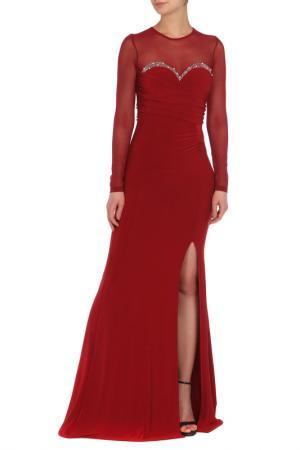 Платье MISS MOI. Цвет: красный