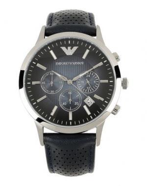 Наручные часы EMPORIO ARMANI. Цвет: черный