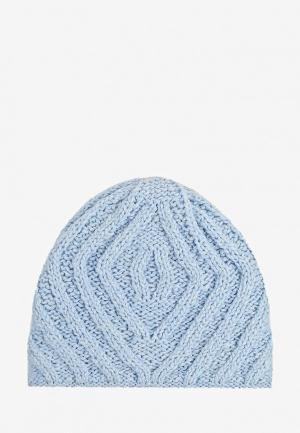 Шапка Fete. Цвет: голубой