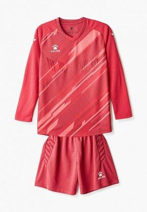 Костюм спортивный Kelme Goalkeeper L/S Suit. Цвет: красный