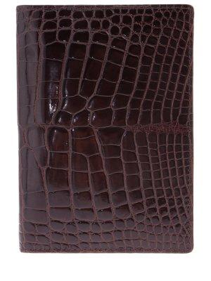Обложка из кожи крокодила ZILLI
