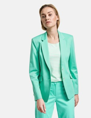 2211-530028-38181 Жакет женский (size 42, color ALOE; code 50898) GERRY WEBER. Цвет: зеленый
